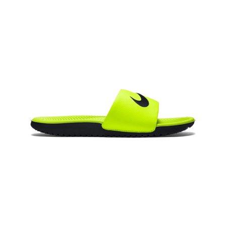 20d4ddeec74d3 Nike - Boys  Nike Kawa Volt Black 1Y - Walmart.com