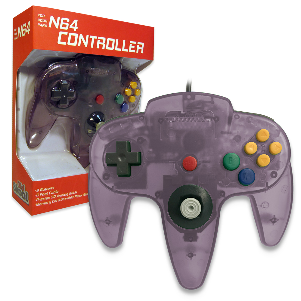N64 Controller Atomic Purple