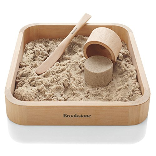 "BrookStone Sand Box 9.5"" x 9.5"