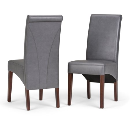 Simpli Home Avalon Deluxe Parson Dining Chair (Set of 2)