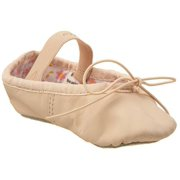 Capezio Girl Daisy Leather Ballet Flats by Ballet Makers Inc.
