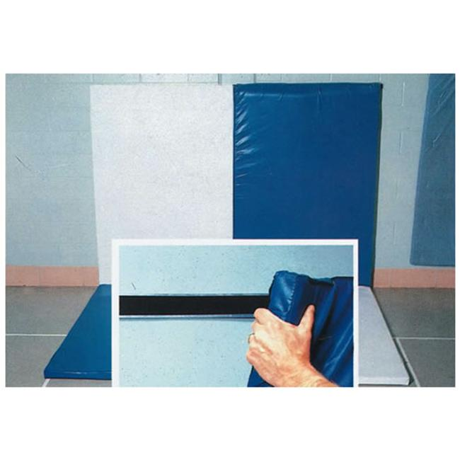 Jaypro Sports GMVH-1 4 ft.  x 6 ft.  Nonfolding Wall-Tmble Mat