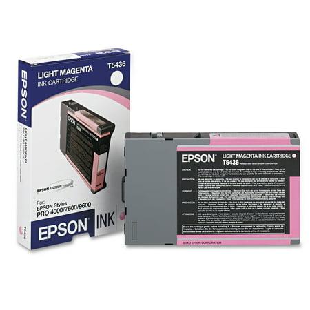 Epson T543600 (T5436) Ink, Light Magenta