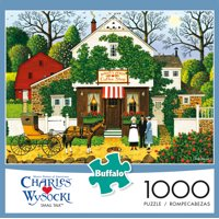 Deals on Buffalo Games Charles Wysocki Small Talk 1000 Piece Puzzle