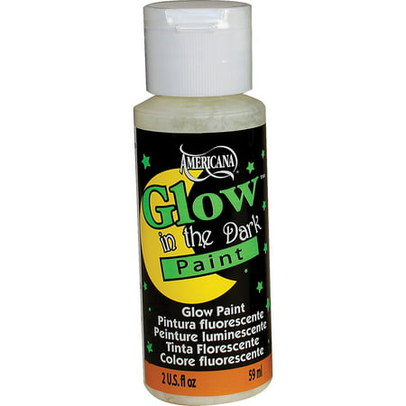 Americana Glow In The Dark Paint - Glow In The Dark Body Paint