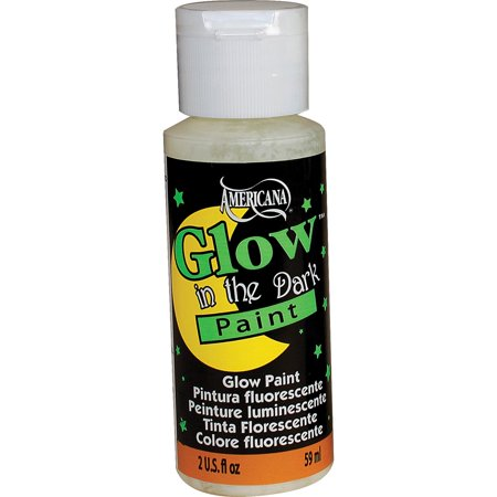 Americana Glow In The Dark Paint - Does Uv Paint Glow In The Dark