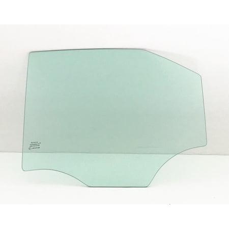 For 2008-2013 Cadillac CTS 4 Door Sedan Driver/Left Side Rear Door Window Replacement Glass