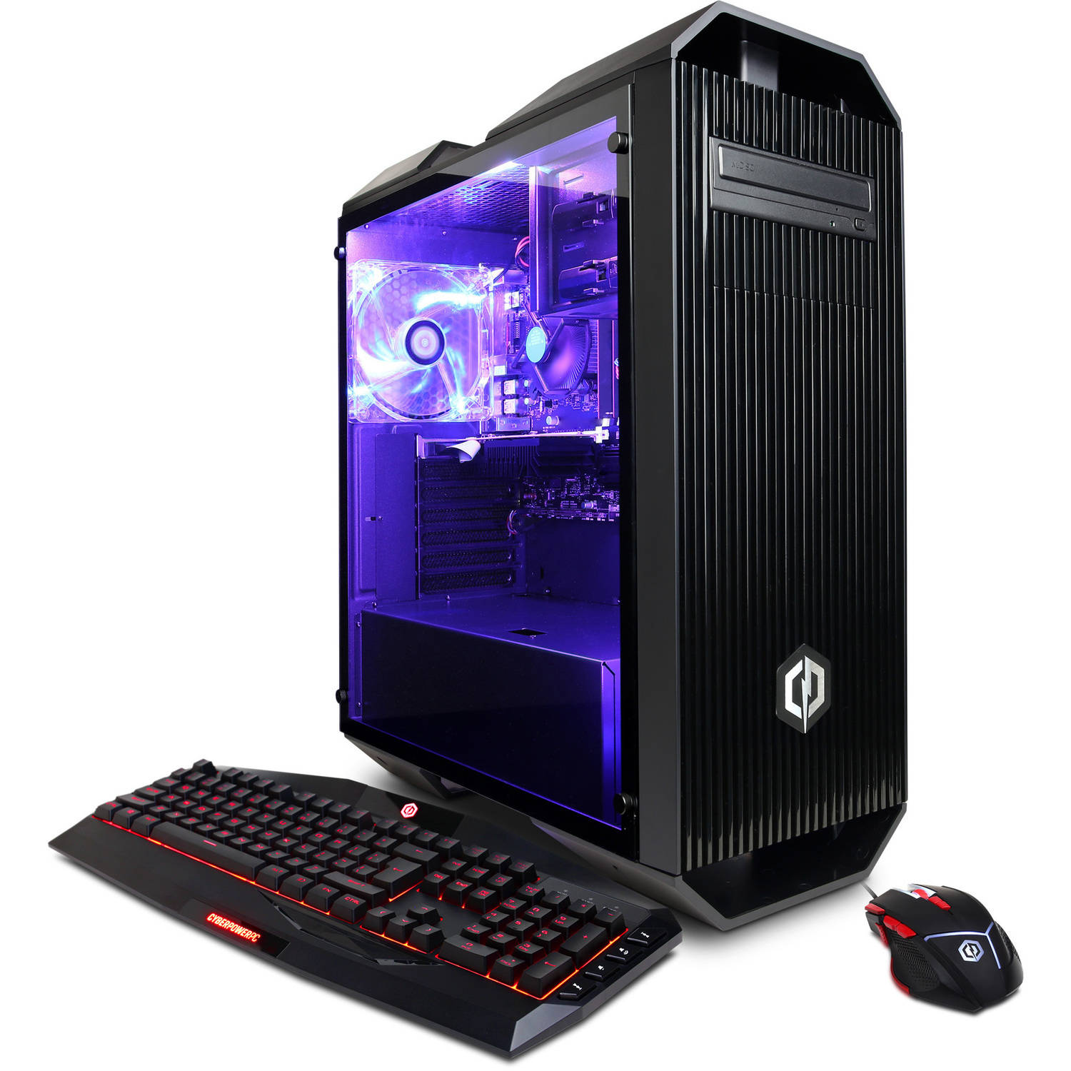 CYBERPOWERPC Gamer Xtreme GXi10140W Gaming Desktop PC with Intel Core i5-7600K Processor, 8GB Memory, 1TB Hard... by CyberPowerPC