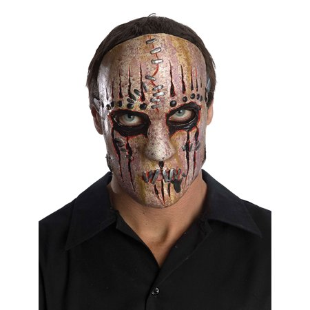 Slipknot Joey Adult Halloween Latex Mask Accessory](Slipknot Spike Mask)