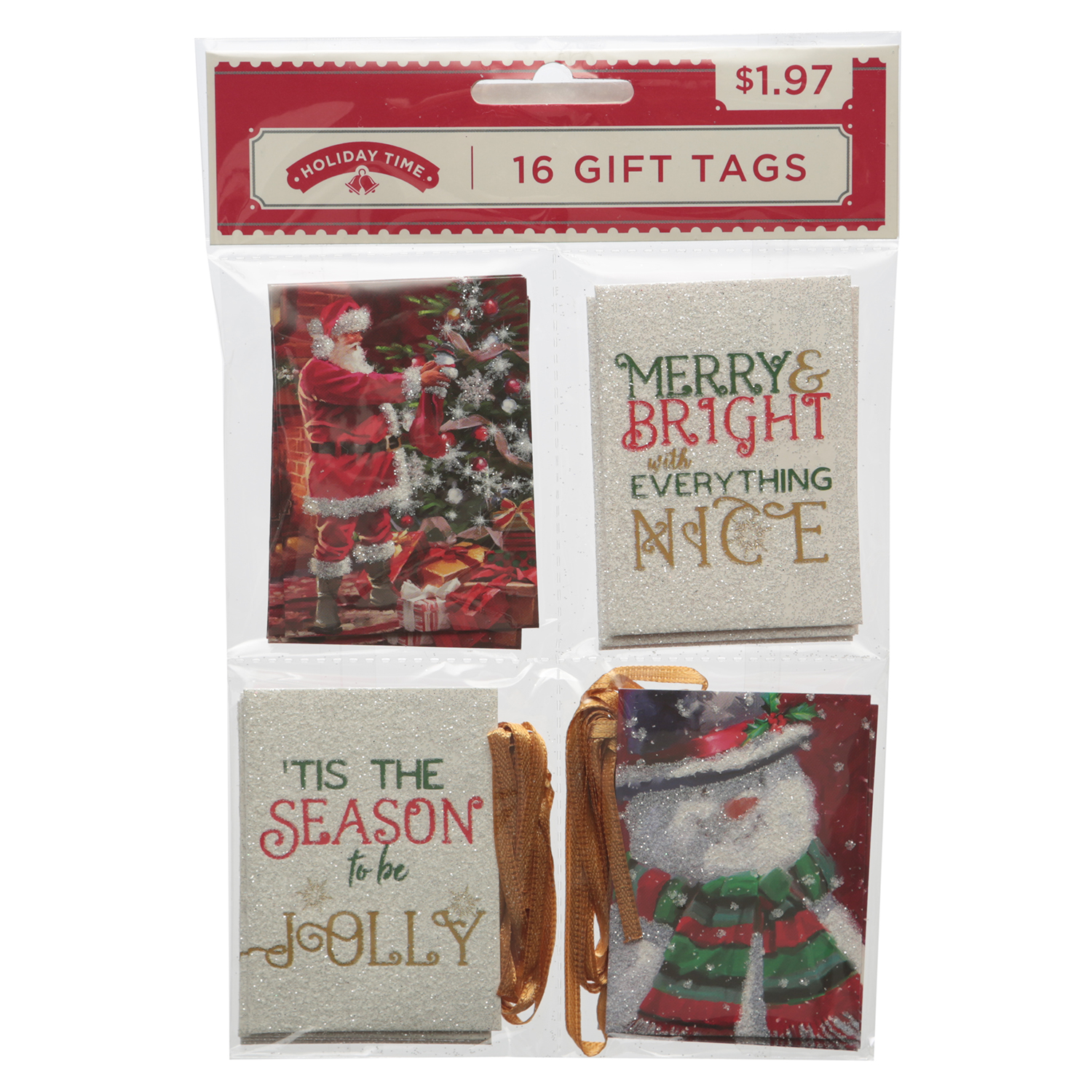 Holiday Time 16ct Trad Qrt Tag