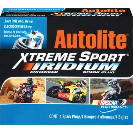 Autolite Xtreme Sport Iridium Spark Plug   XS4162 XS4162 ()