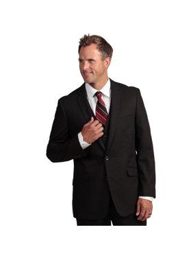 kenneth cole  reaction men's slim-fit black suit separate coat