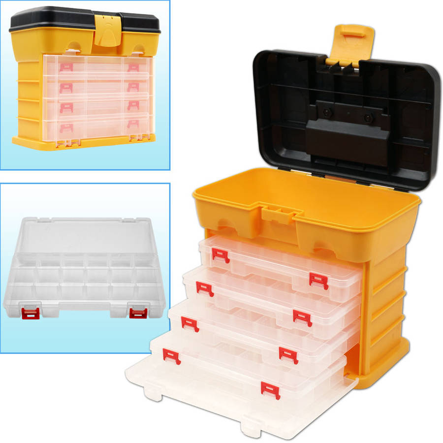 Stalwart 53-compartment Durable Plastic