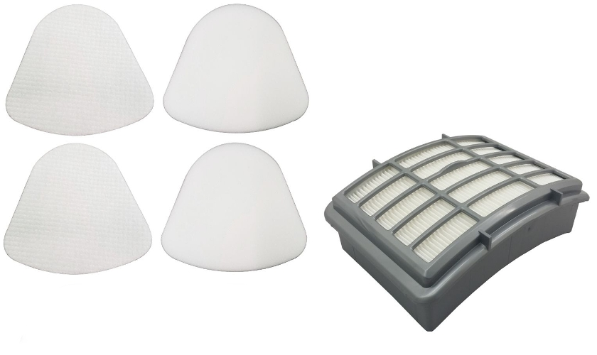 Foam /& felt Filters for Shark Navigator Lift-Away NV370 NV355 NV 356E 2-Pack