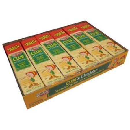 Keebler Sandwich Crackers Club & Cheddar 1.8 Oz Each ( 12 In A Pack )