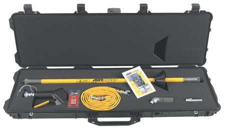 GUARDAIR HT107 Air Gun Kit,Chrome,58 In. L,120 psi by Guardair