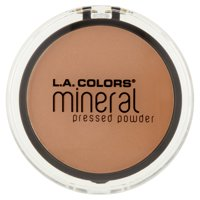L.A. Colors Mineral Pressed Powder, Sand
