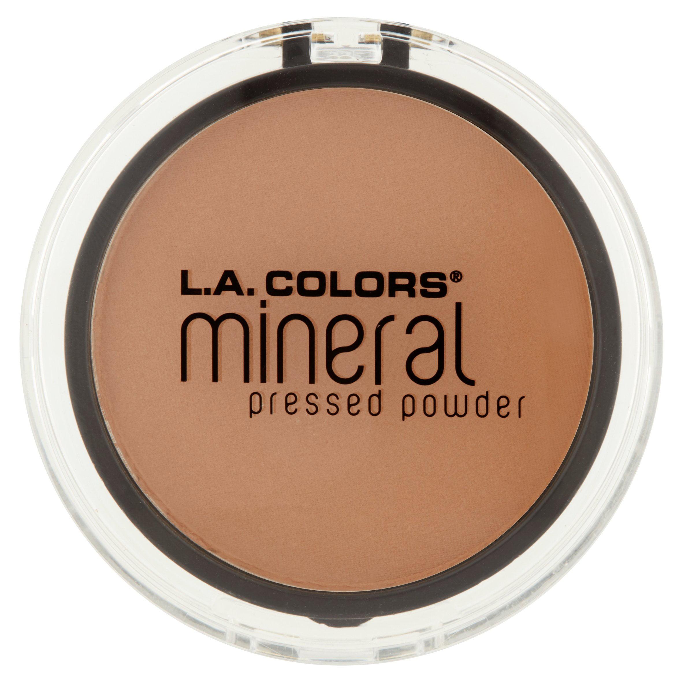 L.A. Colors Mineral Pressed Powder, Sand