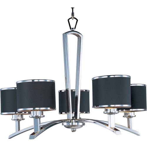 Maxim MX 20375 5 Light Single Tier Chandelier from the Salon Collection