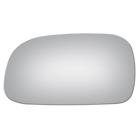 Burco 2606 Driver Side Replacement Mirror Glass for 1993-1997 Toyota (2004 Toyota Corolla Driver Side Window Glass)