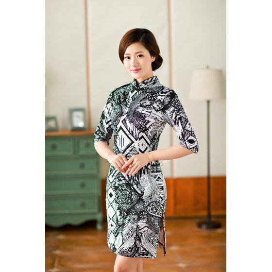 1506b7cd8 2 For 1 - Women Special 1/2 Long Sleeve Modern Mandarin Chinese ...