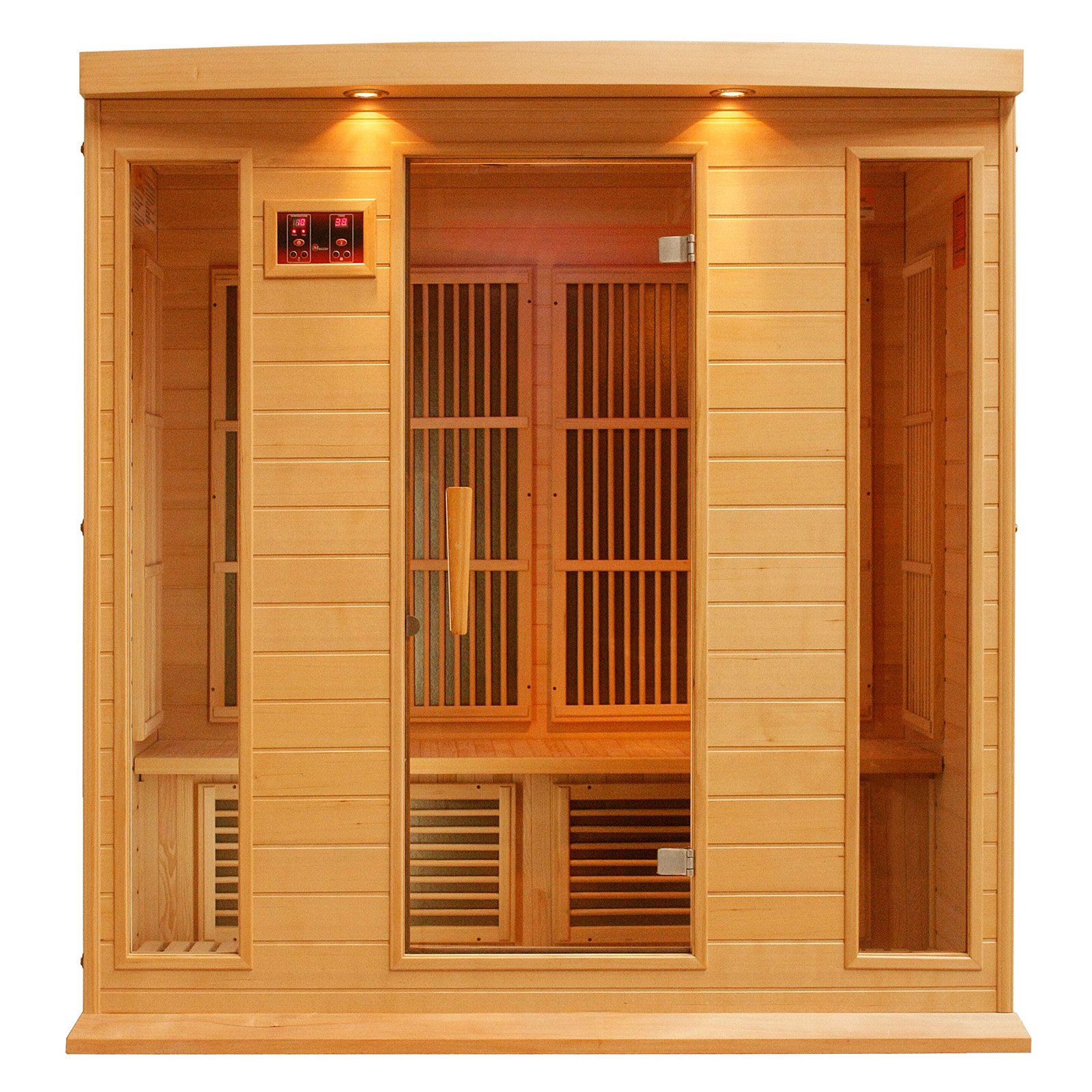 Maxxus Sauna 4 Person Carbon Sauna by Golden Designs