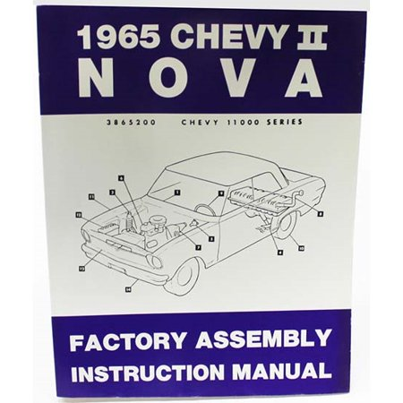 Dave Graham 65-NFA Factory Assembly Manual, 1965 Chevy II