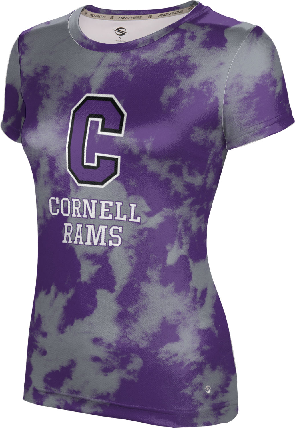 ProSphere Girls' Cornell College Grunge Tech Tee