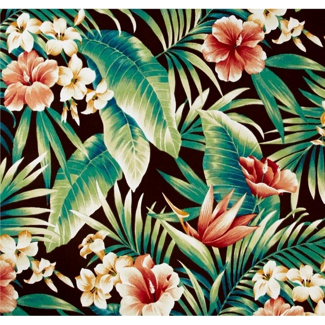 Jordan Manufacturing Outdoor Fabric By The Yard, Cypress Rainforest