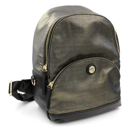 00110a49b1a0 Nine West Handbags & Purses - Nine West Bronze Fabric Taren Small ...