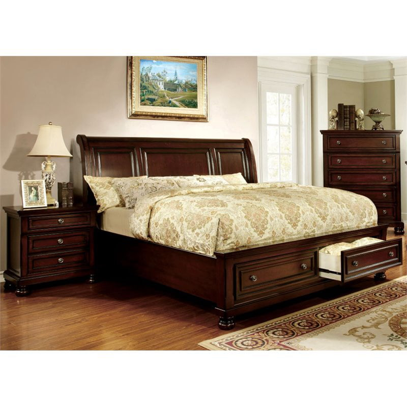 furniture of america caiden 3piece california king