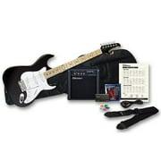Silvertone SS10PKBK Citation Guitar & Amp Package Black