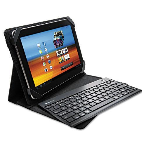 Kensington KeyFolio Pro 2 Universal Removable Keyboard; Case and Stand for 10-Inch Tablets; Black (K3951
