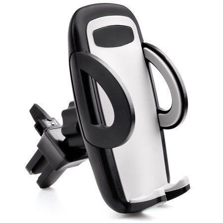 Universal Air Vent Car Mount Holder, Universal Cell Phone Car Holder Cradle for iPhone XR XS XS Max X 8 Plus 7 Plus SE 6s 6 Plus 5 5S GPS Samsung Galaxy S8 S7 S6 S5 S4 Edge LG Android and More (Car Vent Phone Holder Samsung S5)
