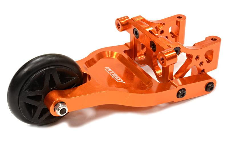 Integy RC Toy Model Hop-ups T3241ORANGE Evolution-3 Wheelie Bar for Traxxas 1 10 Summit;... by Integy