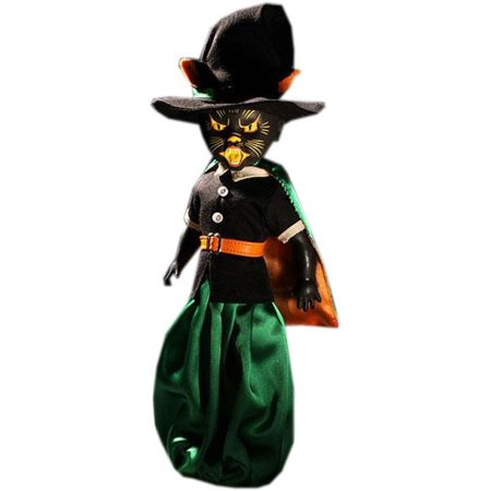 Living Dead Dolls Series 32 A Tribute to Halloween of Yesteryear Black Cat Witch Doll [Salem] (Porcelain Doll Halloween)