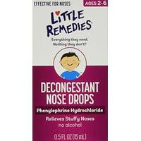 Little Noses Decongestant Nose Drops 0.5oz Each