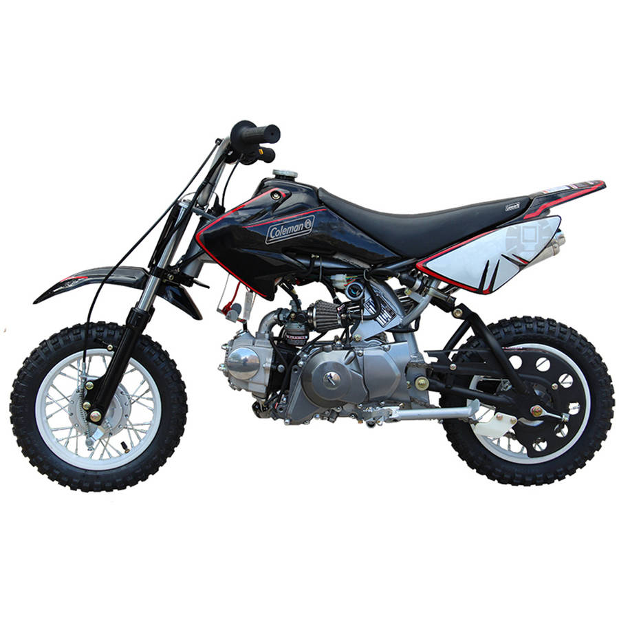 coleman 70cc gas powered dirt bike 858169002751 ebay. Black Bedroom Furniture Sets. Home Design Ideas
