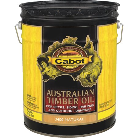 Cabot Australian Timber Oil Translucent Exterior Oil