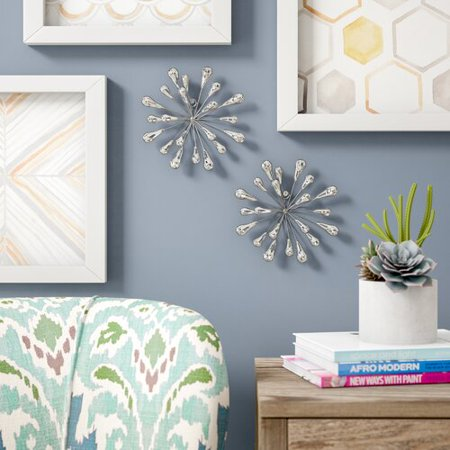 Wrought Studio 2 Piece Starburst Wall D cor - Home D ? Cor Accessory