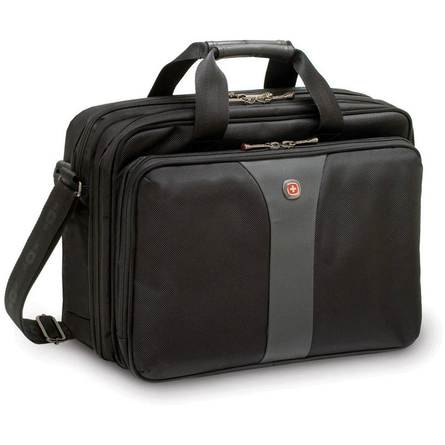 "Swiss Gear 15.6"" Legacy Top Load Double Gusset Laptop Case"