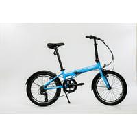 "Zizzo by Euromini Via 20"" 7-speed Aluminum Alloy Folding bike"