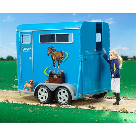 Breyer Traditional Series Two-Horse Trailer - 1: 9 Scale