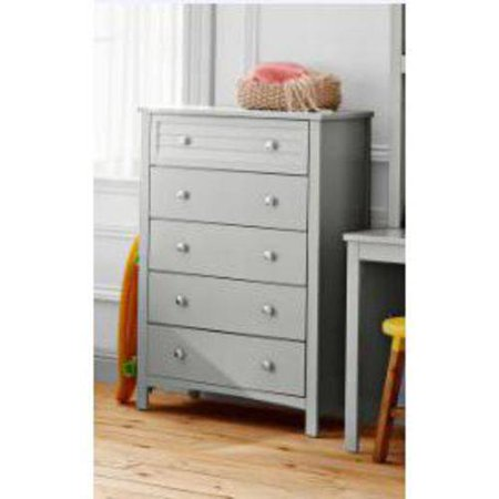 Better Homes And Gardens Kids Panama Beach 5 Drawer Chest Gray