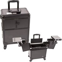 4b269079f2 Product Image Sunrise E6304PPAB All Black Rolling Beauty Case - E6304