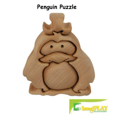 Natural Dream Penguin Puzzle (#20210) by, By Imagiplay Ship from US (Imagiplay Natural)