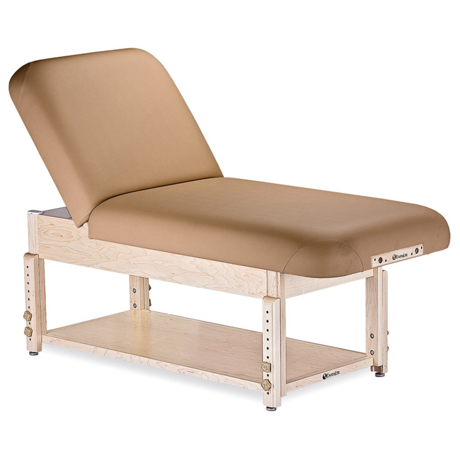 EarthLite Sedona Stationary Tilt Massage Table with Shelf