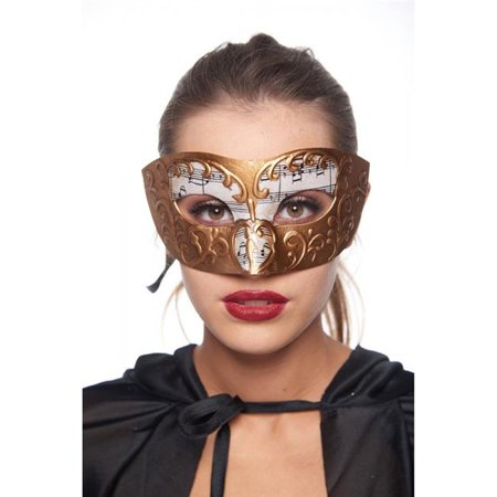 Kayso PM033GD Gold Musical Venetian Style Masquerade Mask - image 1 of 1