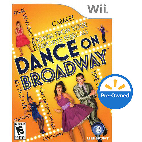 Dance On Broadway  (Wii) - Pre-Owned