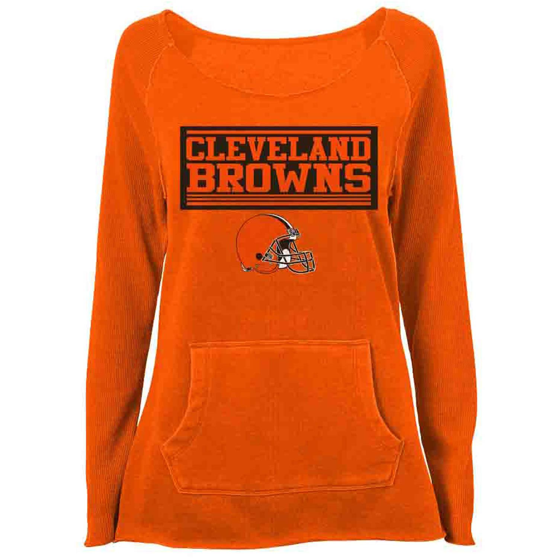NFL Cleveland Browns Gilrs Fleece Top